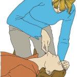 állát megtámasztom az egyik kezemmel (de nem zárom össze a száját), másik kezemmel a koponyatetőt támasztom meg