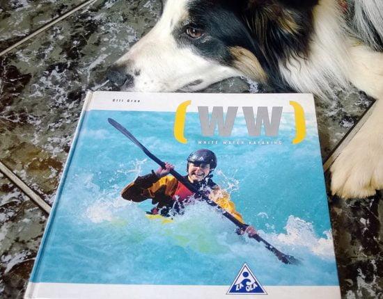 Olli Grau: White Water Kayaking című könyvének borítója