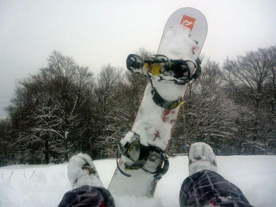 Snowboard, a másik szerelem.