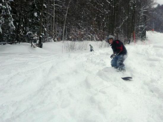 Snowboard freeride.