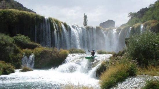 Egy csodaszép hely, Zrmanja kanyon.