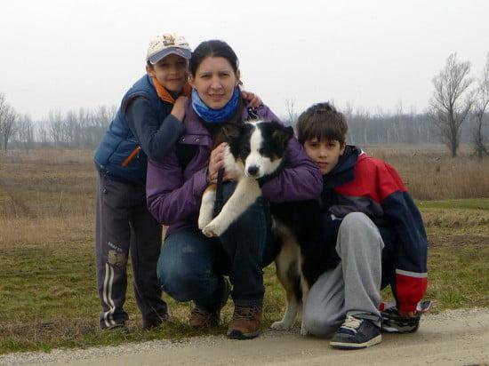 Somi, Detti, Lénus kutya, Barni.