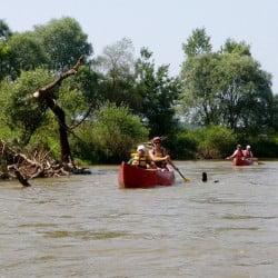 A Rába folyó Rábagyarmat közelében