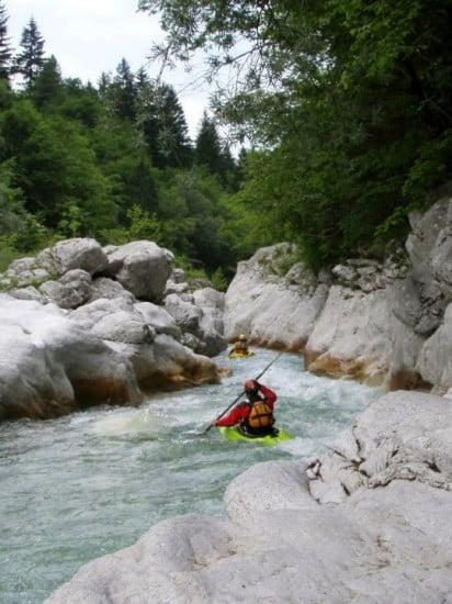 Koritnica, Szlovénia