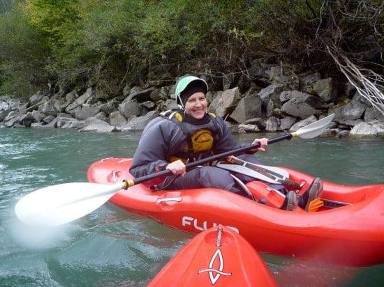 Detti nagyon jól érezte magát a folyón