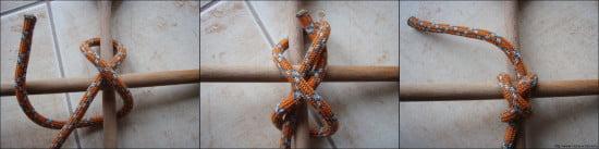 2.13. Keresztcsomó - transom knot