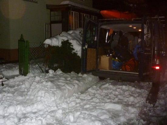 Azt hittük, estére elolvad a hó. Hát nem.