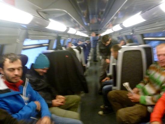 De fasza, ma elértük a vonatot!