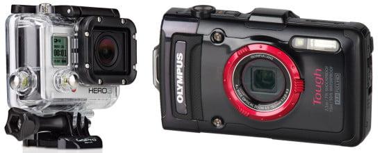 Vízálló kamera és fényképezőgép