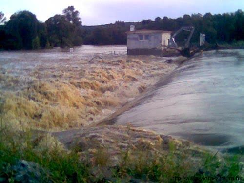 Egy halálos vízhenger nagyvíznél