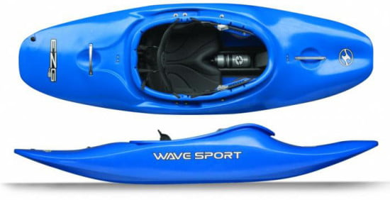 WaveSport EZG: river play kajak