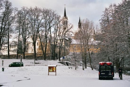 A téli Moldván