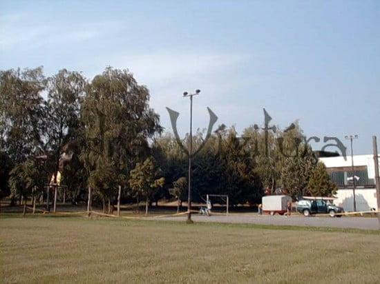 A szentgotthárdi táborhely az iskolában.