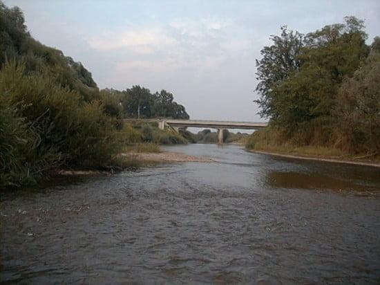 A Csákánydoroszlói híd 169,0 fkm