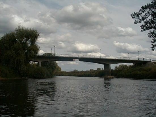 A Molnaszecsődi híd 142,2 fkm