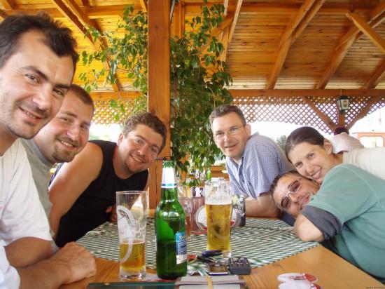 Laci, Krisztián, Mecsó, Gábor, Ati, Detti