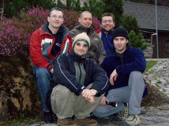 Gábor, Lackó, Mecsó, Vidra Ati, András.