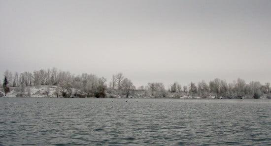 Gyékényes télen