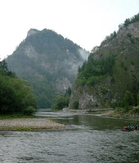 Dunajec Áttörés tutajjal.