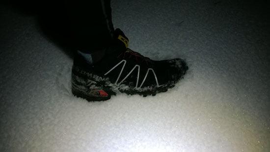 Futottam havas időben, szépen meg is tisztult.