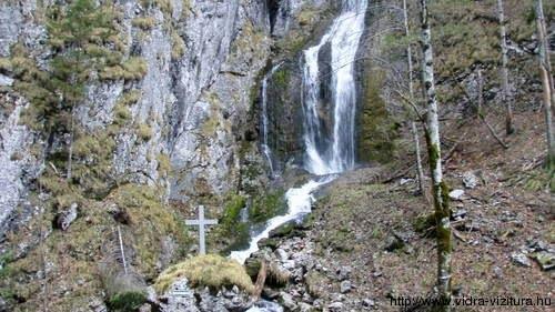 Vízesés a kanyonban.