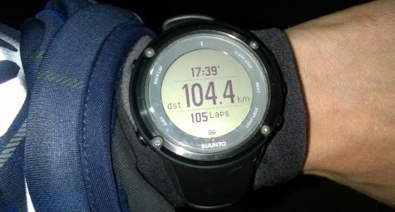 100 km-es kenuzás a Rábán