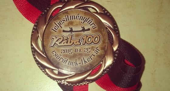Weking Rába 100 km-es teljesítménytúra 2015.