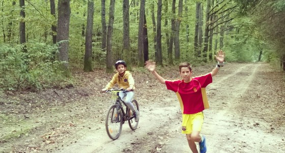 Barni első terep-félmaratonja