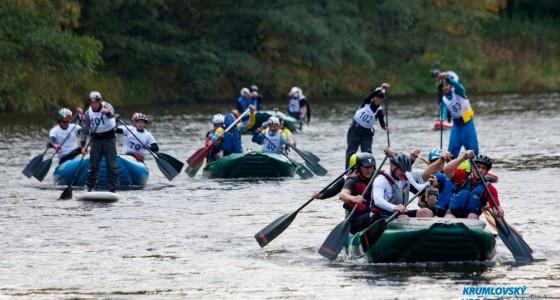 13. International Cesky Krumlov River Marathon 2015. – Raft kategória 5. hely