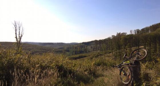 Dél Zala Dombjai Ultra Trail 3×100, bringás változat, 3. befejező szakasz.