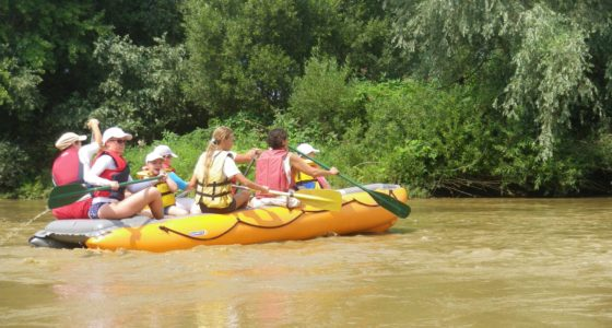 Mura családi és könnyű rafting a Muraföldén